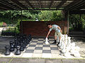 Chess board at Karlsruhe Zoo.jpg