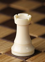 Chess piece - White rook (cropped).JPG