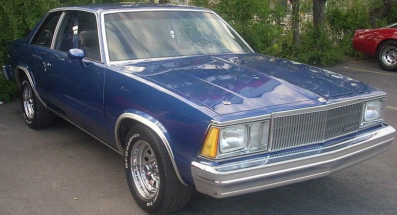 Image Gallery 1984 Chevrolet Malibu