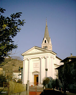 Kerk in Strigno