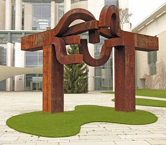 Eduardo Chillida - Chillida's sculpture Berlin (2000) for the Office of the Federal Chancellor (Bundeskanzleramt) in Berlin