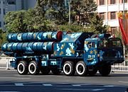 Chinese HQ-9 launcher