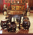 Chinese style furniture in Bang Pa In Chinese style palace.JPG