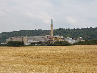 Chinnor - Former cement works, now demolished.