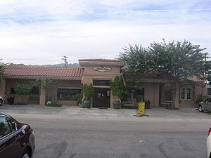 Chiriaco Summit, California - The Chiriaco Summit Coffee Shop, October 6, 2012