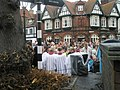 Choristers waiting in South Street for the 2009 Remembrance Sunday Service to start - geograph.org.uk - 1572768.jpg