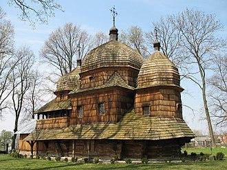 Mother of God Church, Chotyniec - Image: Chotyniec cerkiew 2