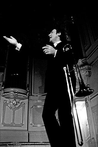 Chris Barber - Barber performing in Hamburg, 1972