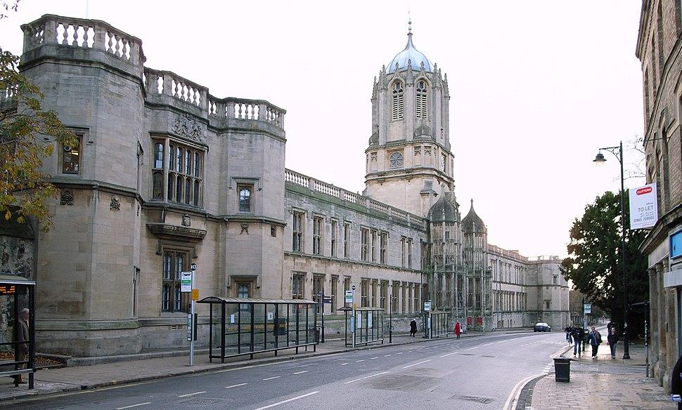 Christ Church College Oxford Quadrangle