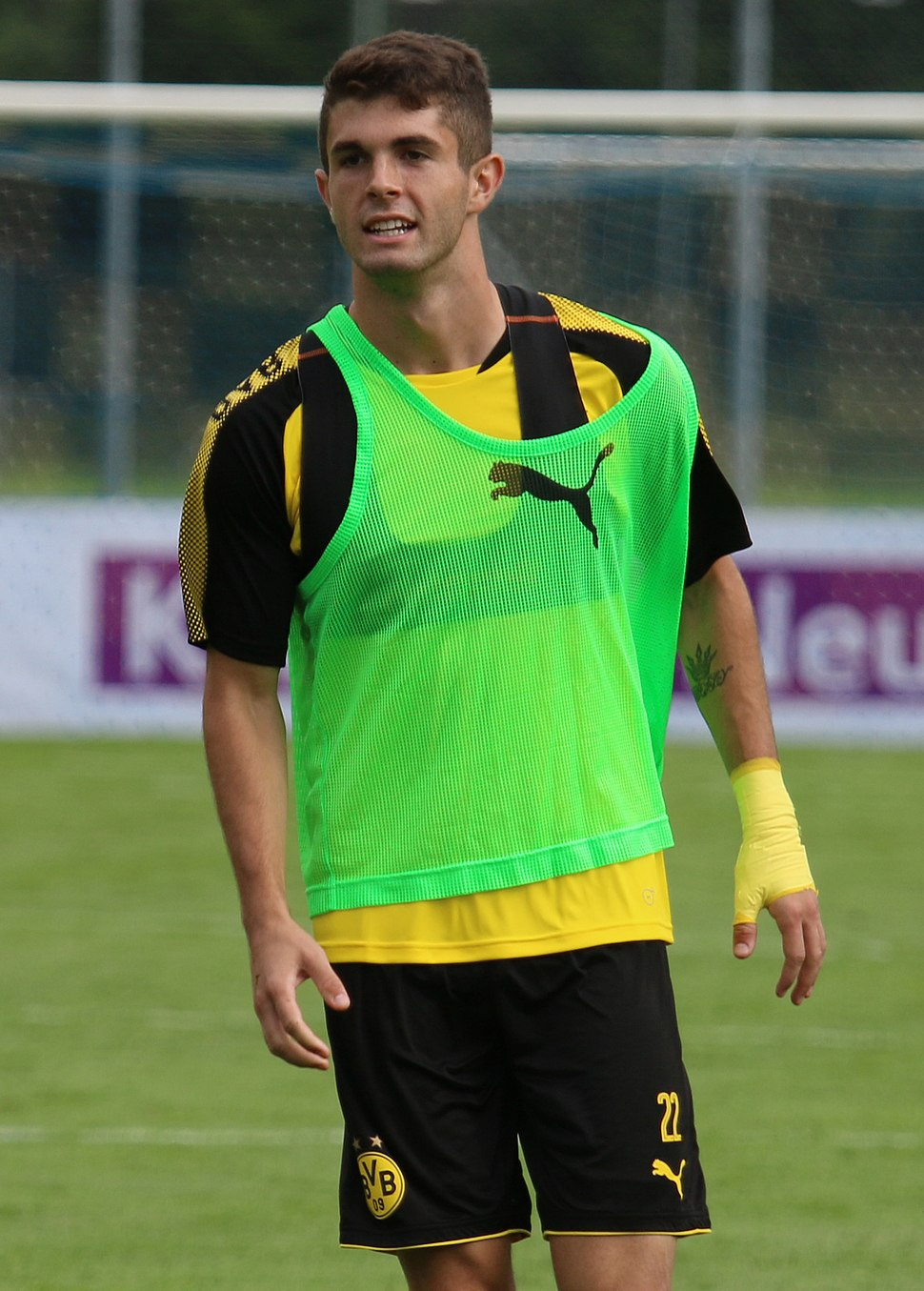 Christian Pulisic 2017 (cropped)