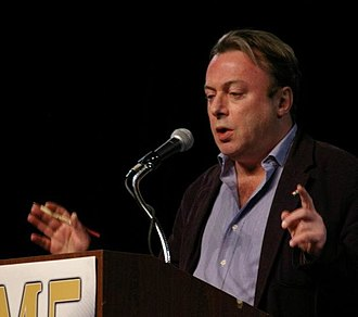 Criticism of religion - Christopher Hitchens, journalist and author of God is not Great