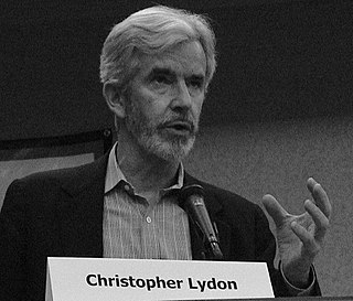 Christopher Lydon American media personality