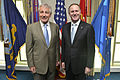 Chuck Hagel meets NZ Prime Minister John Key, June 2014.jpg
