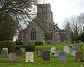 Church and churchyard, Preston St Mary - geograph.org.uk - 1598443.jpg