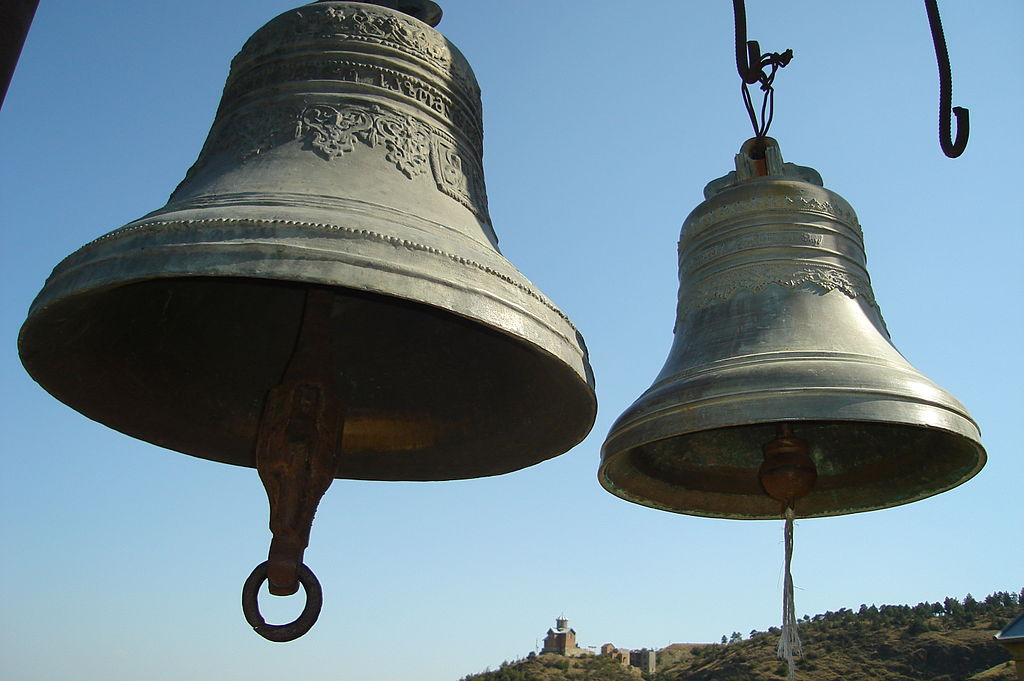Church bells. Narikala, Tbilisi