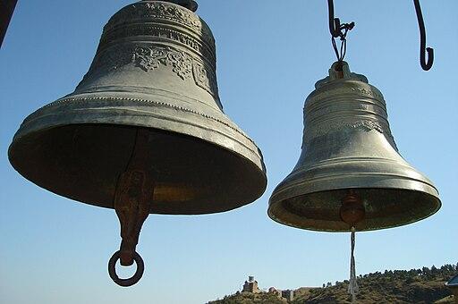 Church bells. Narikala, Tbilisi