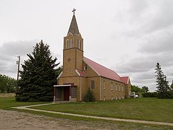 Church in Kintyre, North Dakota.jpg