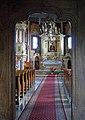 Church of Saint Nicholas of Myra, interior, 31 Czulice village, Kraków county, Poland.jpg