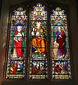 Church of Ss Mary & Lawrence interior - south aisle stained window 03.JPG