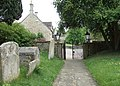 Church path, Duddington - geograph.org.uk - 1470658.jpg