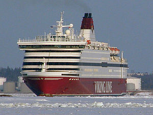 Cruiseferry - Image: Cinderella vintern 2003