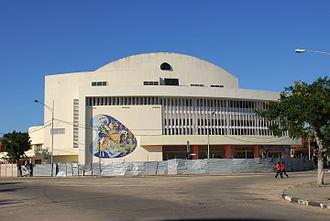 Timeline of Beira, Mozambique - Image: Cinema São Jorge Beira