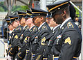 Citizen-soldiers from the Army Reserve's 99th Regional Support Command Rifle Team participate in the annual Memorial Day event hosted May 27 by New York City's Intrepid Sea, Air and Space Museum 130527-A-VX676-010.jpg