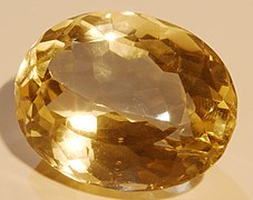 Citrine, one of two November birthstones