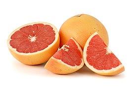 Плоды грейпфрута красного (Citrus paradisi)