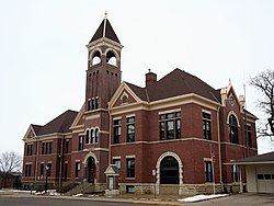 Lake City City Hall, built in 1899 and on the National Register of Historic Places