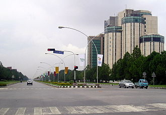 Blue Area - Image: City Boulevard (Islamabad, Pakistan)