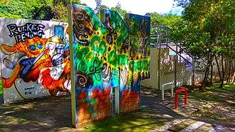 City Park, Penang - The Penang Graffiti Park was launched in 2012.