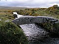 Clapper bridge near Scorhill Stone circle - geograph.org.uk - 1473686.jpg