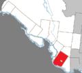 Clarendon Quebec location diagram.png