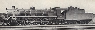 South African Class 19B 4-8-2 - Image: Class 19BR no. 1410