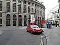 Classic car outside Bank tube station - geograph.org.uk - 1759713.jpg