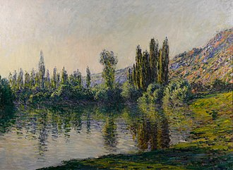 Minnesota Marine Art Museum - Claude Monet's La Seine à Vétheuil is among the works displayed by the MMAM.