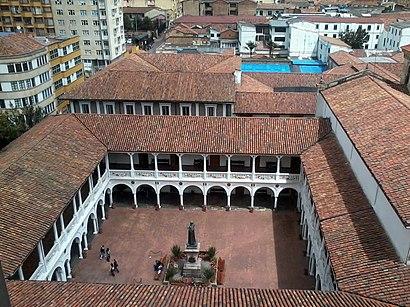 Cómo llegar a Universidad Del Rosario en transporte público - Sobre el lugar