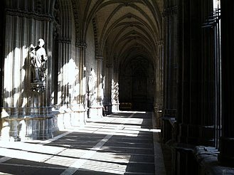 Pamplona Cathedral - Cloister.