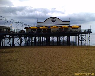 Cleethorpes Pier pleasure pier in Cleethorpes, Lincolnshire, England