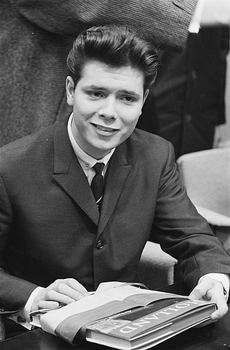 Cliff Richard - Cliff Richard at a press conference in the Netherlands in 1962