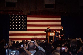 Loretta Weinberg - Weinberg with Corzine and President Bill Clinton at an October 20, 2009 campaign rally at Rutgers University's College Avenue Gymnasium.