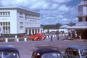 Arusha - Arusha clock tower area, 1953