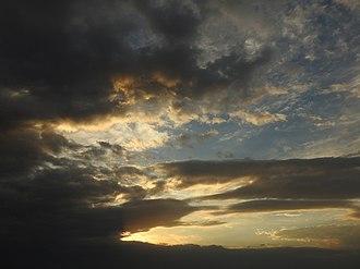 Cloudscape photography - Image: Cloudscape CHD
