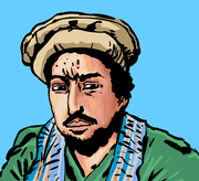 Dessin de Ahmed Chah Massoud