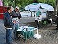 Coastal campaign booth 2007.JPG