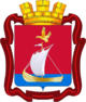 Coat of Arms of Kandalaksha (Murmansk oblast) (2008).png