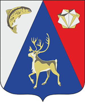 Lovozersky District - Image: Coat of Arms of Lovozerskiy rayon (Murmansk oblast)