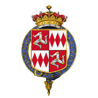 William de Montagu, 2nd Earl of Salisbury - Arms of Sir William de Montacute, 2nd Earl of Salisbury, KG, quartering Mann