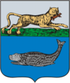 Coat of Arms of Ust-Kamchatsk (Nizhnekamchatsk Kamchatka oblast) (1790).png